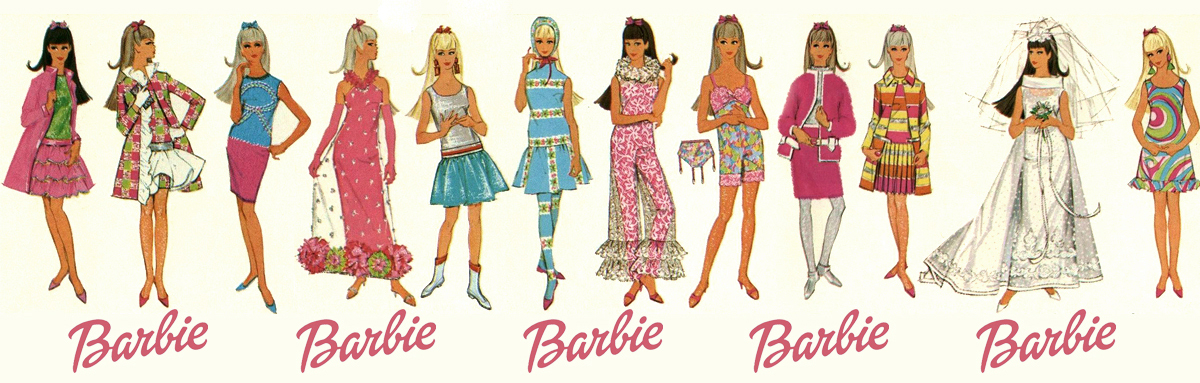 Outfit Barbie 59 69